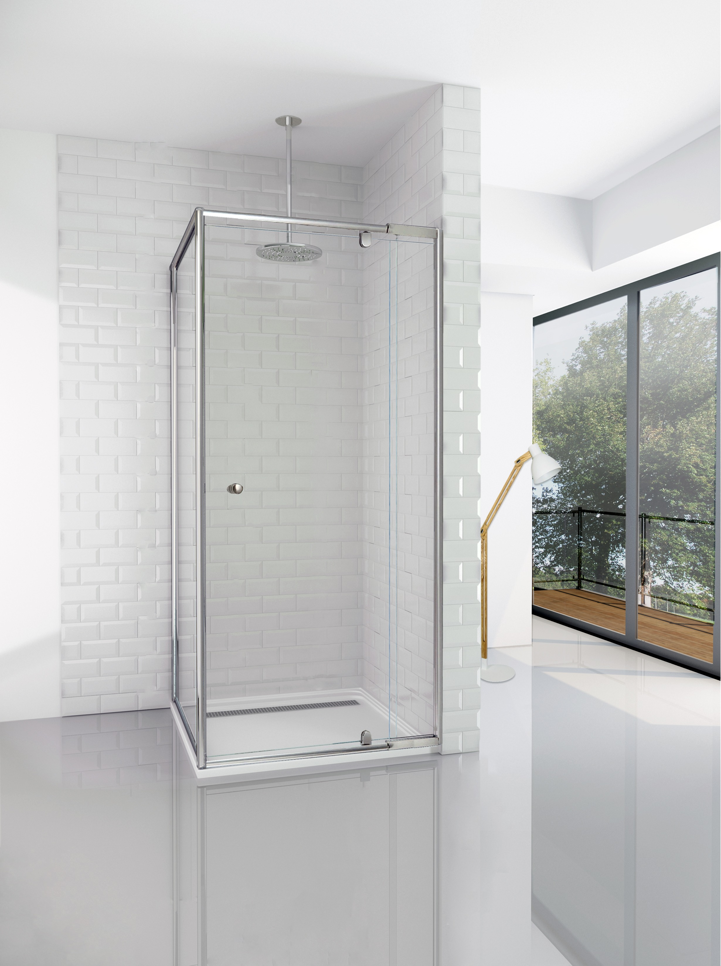 Elfreda Suite Shower Screen 800 860 Front X 825 Return X