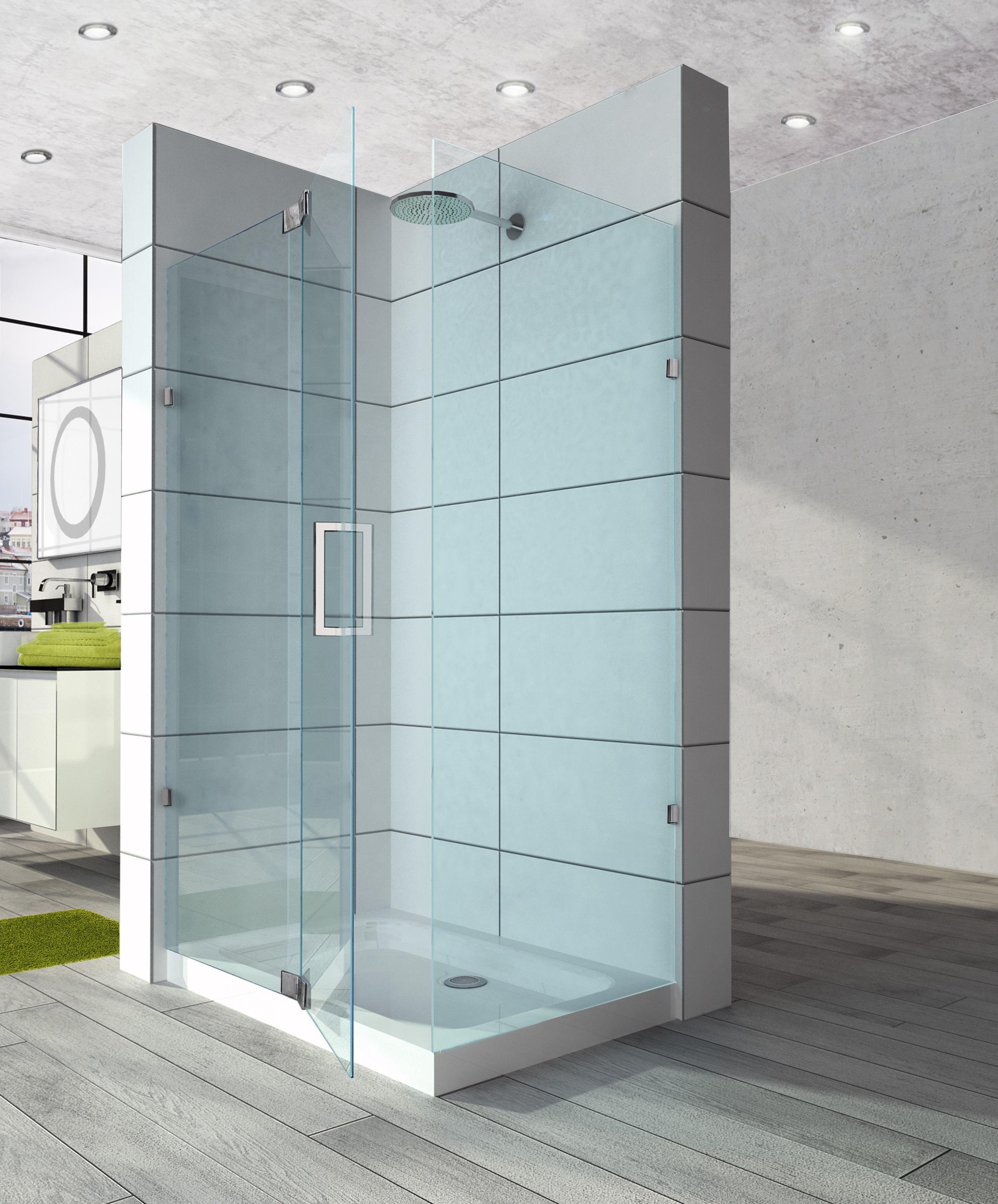 Beautiful Shower Glass Screens Composition Bathtub Ideas Greenriverpedigree Info